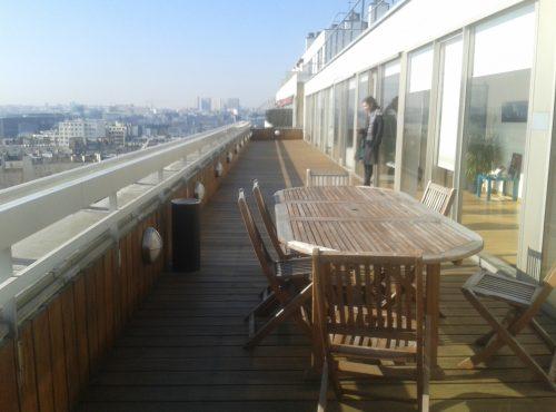 terrasse moderne Paris