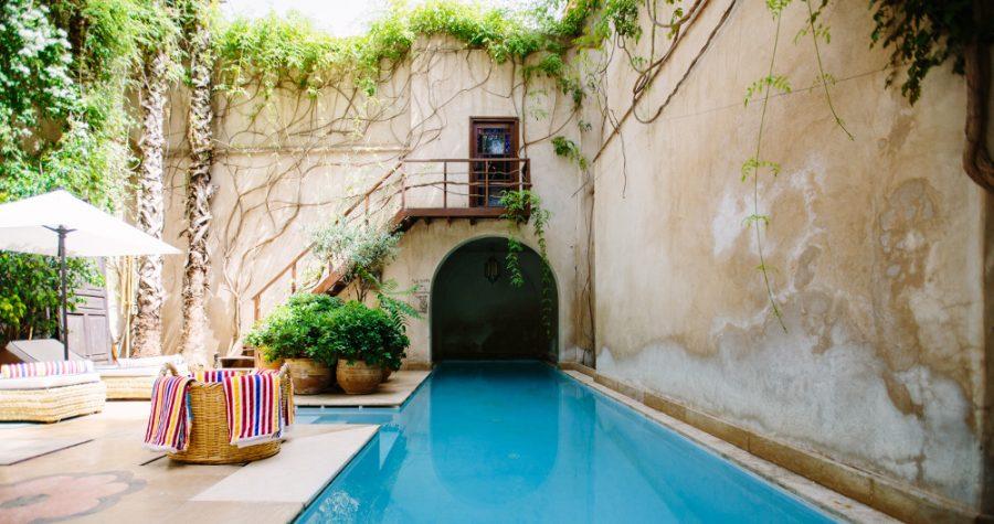 Idee piscine : une pièce de vie extérieure - Le grand plongeon ...