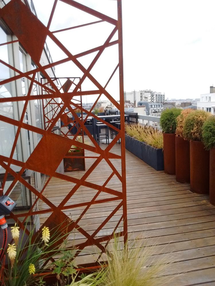 terrasse industrielle aménagement Paris