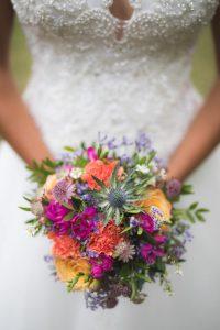 décoration de mariage bouquet de mariée