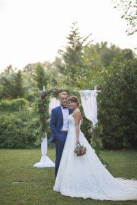 décoration de mariage arche