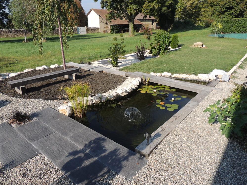 jardin zen et déco bassin