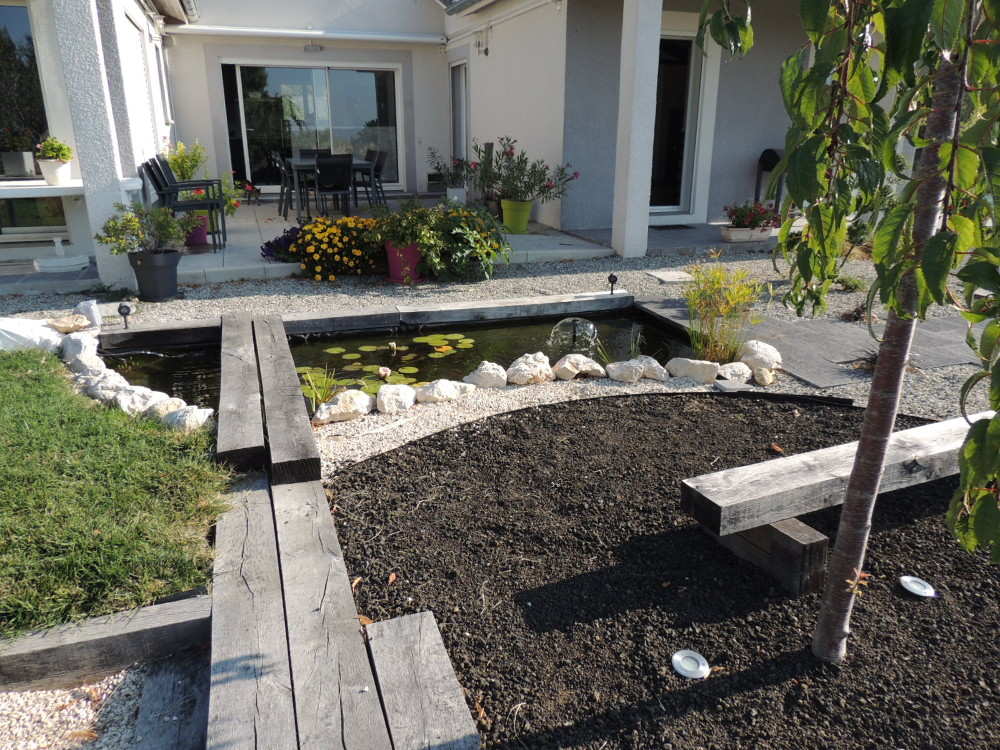 Am nagement de jardin terrasse d co jardin zen for Jardin terrasse zen